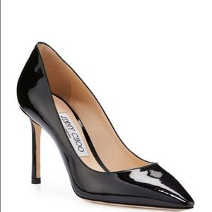 Jimmy Choo Black Patent Leather Size 38
